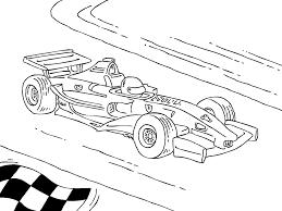 Coloriage Voiture De Course Formule 1 Free Coloriage En Ligne