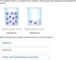 Concentration Of Solutions Ixl Compare Concentrations Of Solutions 8th Grade Science