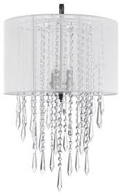 crystal chandelier empress crystal chandelier with large white shades