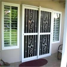 best way to secure a sliding glass door impressive security door for sliding glass door door