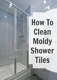 moldy shower tile cha cha cha