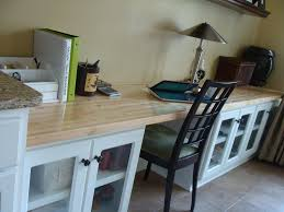 Counter Top Desks Butcher Block Doesnt Have To Stay In The Kitchen This Customer