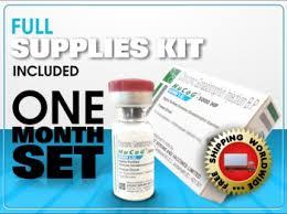 1 month hcg 5000 iu incl mixing supplies