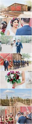 Bohemian Barn Wedding in the Arizona Desert {Jessica Q Photography}