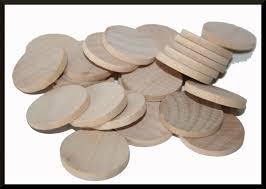 25 1 25 inch 31 75mm round wooden circles jewelry making kids craft circles