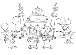 Coloring: Arabic Coloring Pages