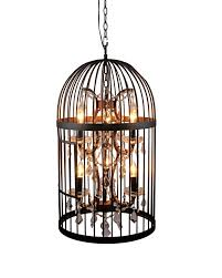 birdcage lighting. 60 Most Out Of This World Birdcage Pendant Light Chandelier With Unique For Convert Recessed And To Lowes On Category Cage Lighting Kitchen Edison Bulb F