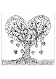Small Picture tree details Flowers and vegetation Coloring pages for adults