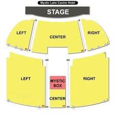 Mystic Lake Casino Concert Seating Chart Sverige Kasinon