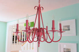 modernize a traditional style chandelier in three easy steps free tutorial with pictures on