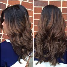 Light Brown Roots Dark Brown Hair Sombre With Dark Brown Roots Coif Hair Brown Hair With