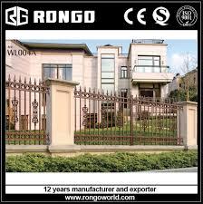 aluminum garden fence rongo indonesia