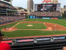 Progressive Field Section 346 Home Of Cleveland Indians