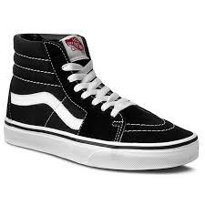 vans shoes white colour. sneakers vans - sk8-hi vn000d5ib8c black/white vans shoes white colour o