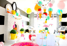 how to decorate living room for birthday