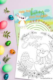 The best free, printable easter coloring pages! Free Printable Easter Bunny Coloring Pages Activity Page
