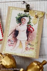 Diy Vintage Christmas Cards 23 Free Printables Town