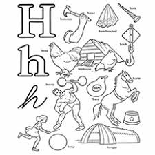 Printables alphabet h coloring sheets. Top 25 Free Printable Letter H Coloring Pages Online