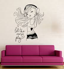 wall decals for teenage girls dance wall decal girls room