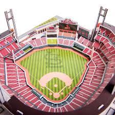 Arizona Cardinals Stadium 3d Seating Chart St Louis Cardinals Mlb 3d Model Pzlz Stadium Busch Stadium