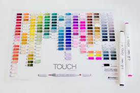 Touch Five Twin Markers Color Chart Best Picture Of Chart