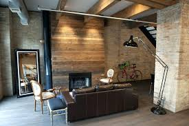 converting to a gas fireplace converting wood to gas fireplace living room rustic with brick wall