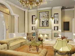 Modern Classic Living Room Design Modern Classic Living Room Decor With Nice Sofa And Round Table