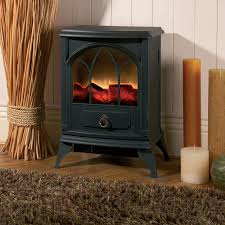 stove effect heater. kingfisher 2000w cast iron-effect electric heater stove effect