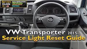 2014 Vw Transporter Inspection Light Reset Vw Transporter 2015 Service Light Reset