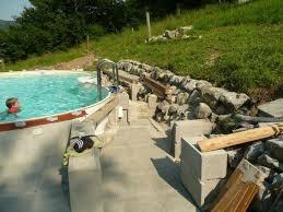 Poolleiter edelstahl 0,90/1,00 m, 1/3 stufen für teilversenkte becken. Stahlwandpool Achtformbecken Aufbauanleitung Pooldoktor At