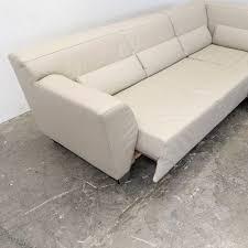 Modern Round Sofa Leder Zion Star