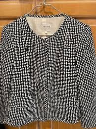 <b>Armani</b> Collezioni Women's Pattern <b>Soft</b> Jacket Sweater Lined Sz 10 ...
