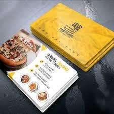 Fast Food Business Card Design Business Card Design