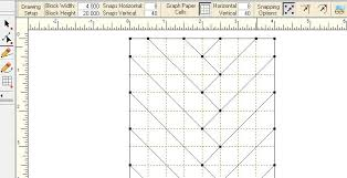 how to design a quilt on graph paper creating braid quilts in electric quilt