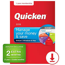 Quicken Deluxe 2018 14 Month Personal Finance Budgeting Software Pc Mac Download Amazon Exclusive Old Version