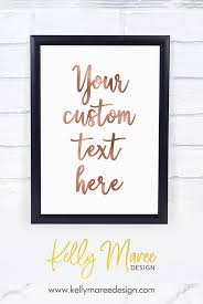 create your own printable wall art