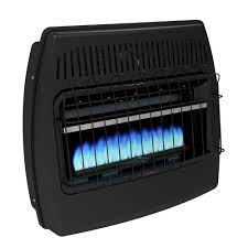 dyna glo 30 000 btu blue flame vent free dual fuel garage heater