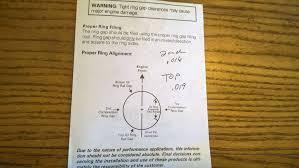 Mahle Ring Gap Chart Classic Cars Details Of An Engine Rebuild Rookie Garage