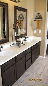 Painted Bathroom Cabinets Refurbishing Bathroom Cabinets