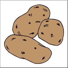 potatoes clipart.  Potatoes Clip Art Potatoes Color I Abcteachcom  Preview 1 And Clipart S