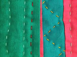 Hand Quilting Needles Guide: Get The Right Needle & example of colourful big stitch quilt in a quilt Adamdwight.com