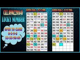 Lucky Number Kalyan 1 03 2017 Sattamatkakalyan Kalyan Jodi