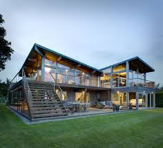 Metal Framed Homes Most Expensive Houses In America Architecture Exterior The House