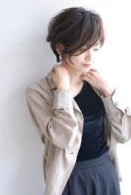媚びないアラフォーがステキ大人女性の日常お出かけ髪型hair