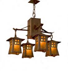 awesome amazing impressive arts crafts genre lighting copper fit light art inside arts and crafts chandelier