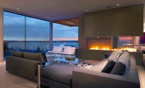 Ocean Living Room Living Room With A View Of The Ocean And Of The Fire