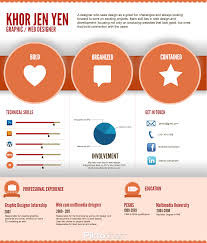 Infographics Infographic Resume By Khor Jen Jen Business