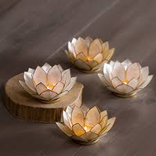 image of vivaterra lotus flower chandelier small size
