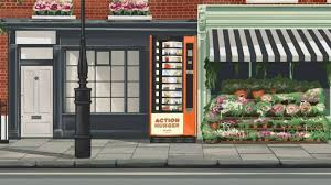 Floral Vending Machine Enchanting Vending Machine Provides Free Food Socks And Toiletries To