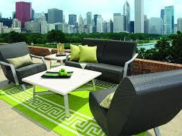outdoor patio chair cushions black